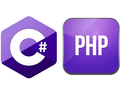 String concatenation in c# and php